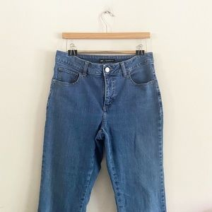 Lee classic fit high waisted jeans